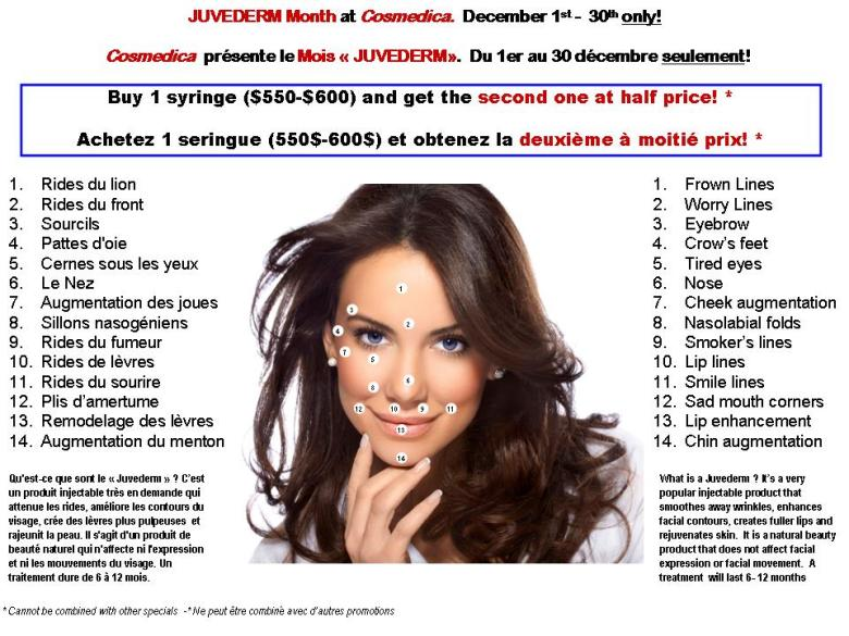 Juvederm Month -Dec-2013